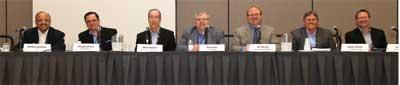 Representatives from six U.S. utilities participate in the mega session