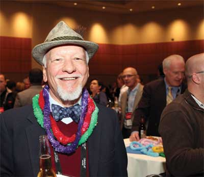 DistribuTECH attendees let loose at the networking reception.