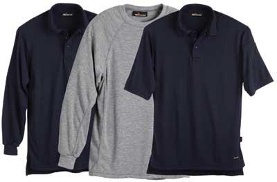 Dual-hazard Knit Shirts