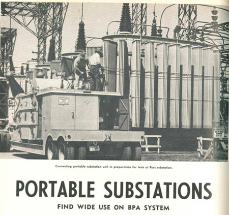 Substations on the move