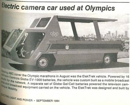 Shooting the Olympics