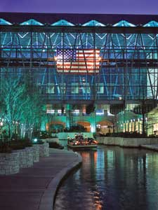 San Antonio's mild winter weather plus the convention center's location on the River Walk means your after-hours activities are endless.