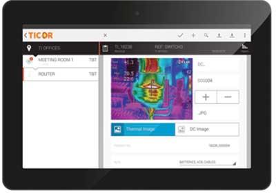 Thermal Imaging Reporting App