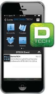 DistribuTECH mobile app