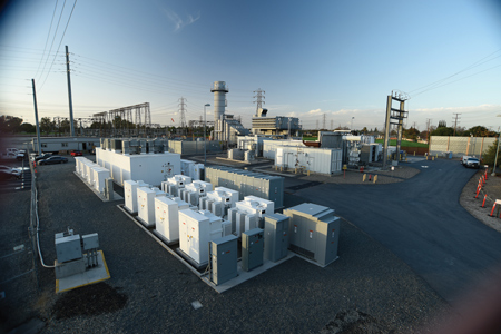 GE-SCE energy storage battery-gas turbine hybrid at Norwalk, California