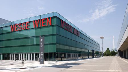 Vienna's Mess Wien center