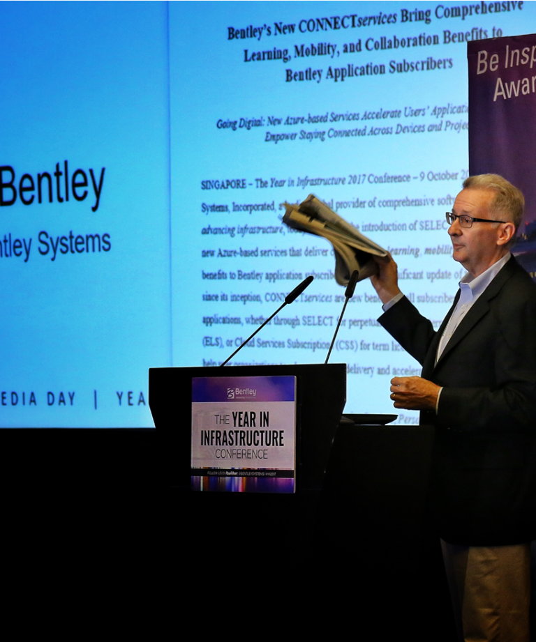 Digitalization is main topic at Bentley's Year in Infrastructure Conference