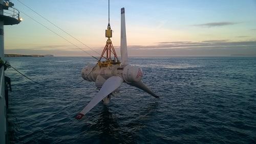 Mygen tidal energy project