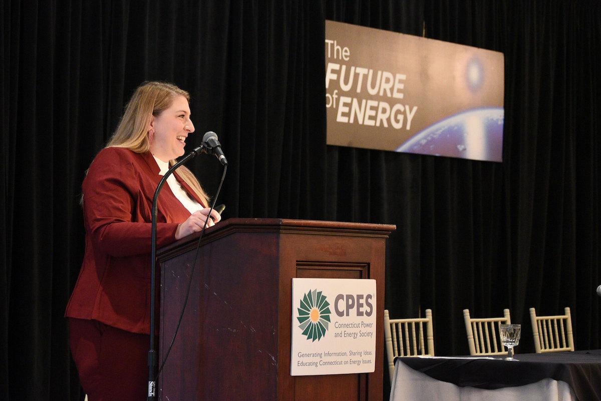 Marissa Paslick Gillett, chair of the CT Public Utilities Regulatory Authority (PURA)