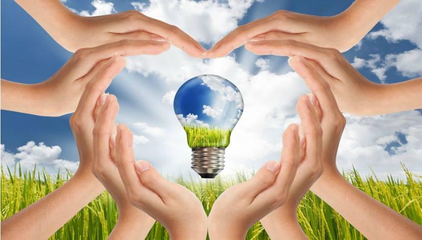 Green Energy Hands