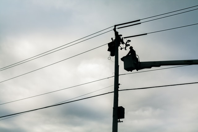 utility workers